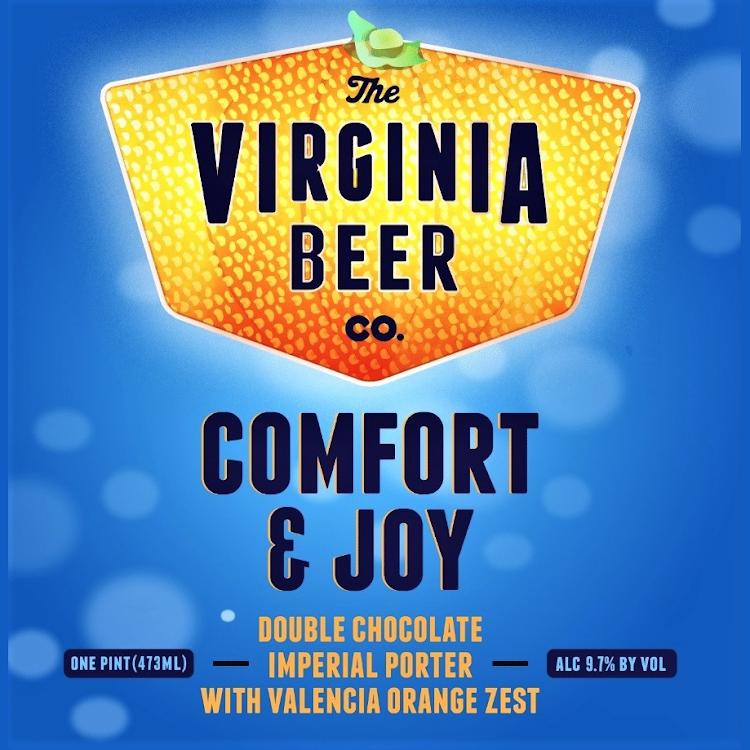 Logo of Virginia Beer Co. Comfort & Joy