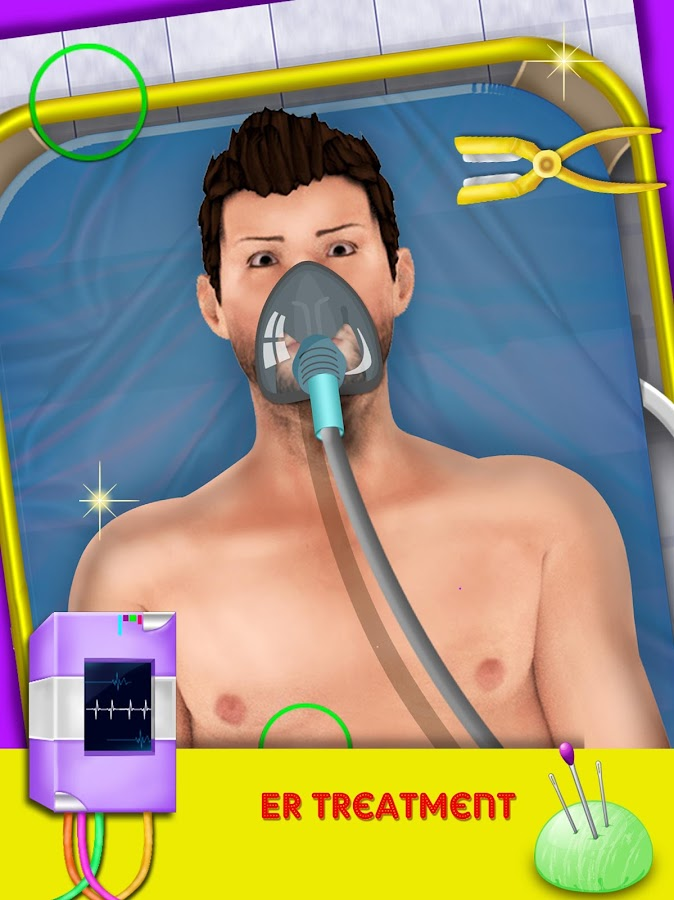 Crazy ER Open Heart Surgery Simulator- screenshot