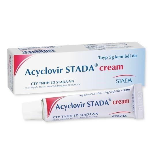 Kem bôi Acyclovir