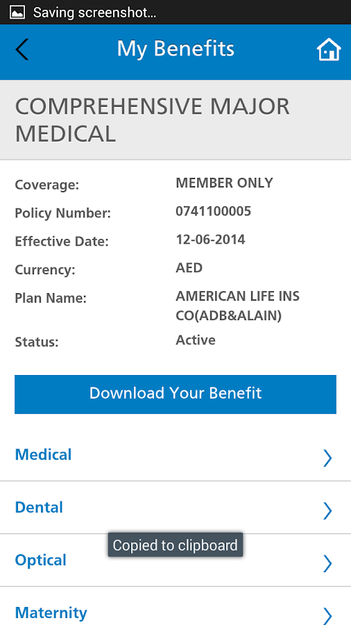 MetLife eServices(Gulf&Egypt)- screenshot