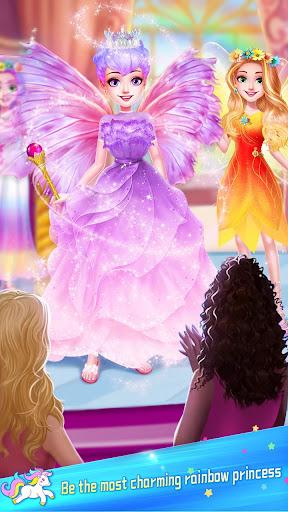 ud83dudc78Rainbow Princess & Unicorn Makeup - Fashion Trip 1.5.5009 screenshots 5