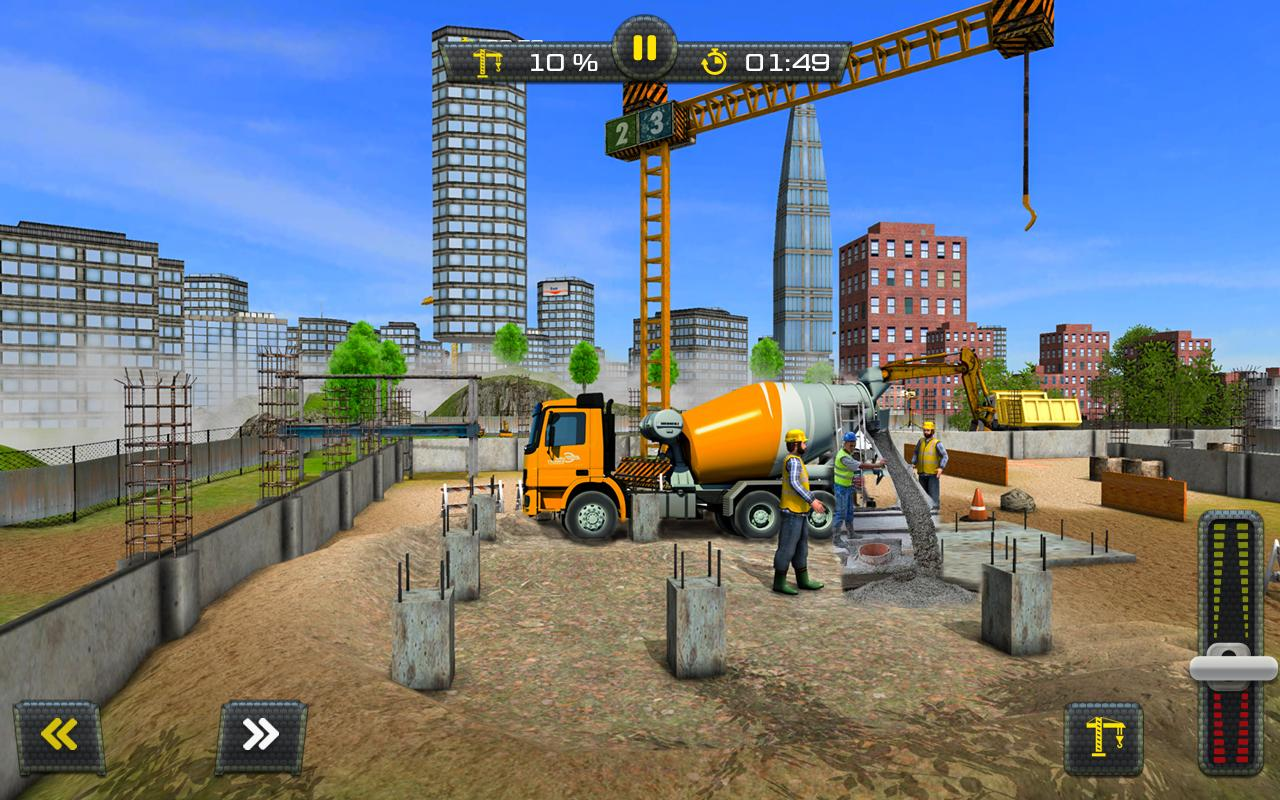 Building construction sim 2017 android apps on google play for House construction app