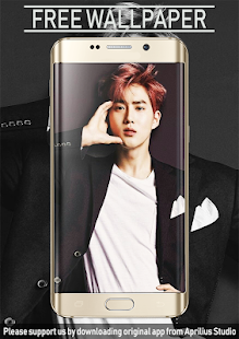 Suho Exo Wallpaper Kpop Aplikasi Di Google Play