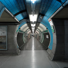 "Photo: Underground station ""Embankment"", City of London."