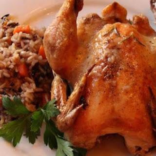 Cornish Hen with Wild Rice Recipe