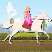Princess Ride White Horse
