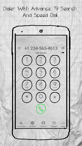 Download i call screen sketch + dialer Google Play softwares