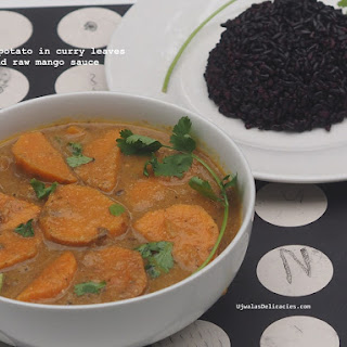 Sweet Potato In Raw Mango Gravy