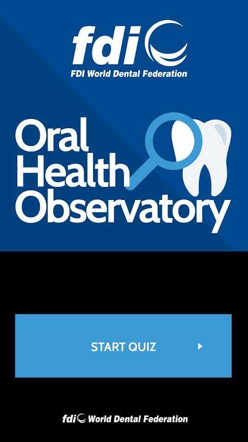 Oral Health Observatory- screenshot