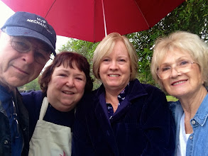 Photo: Ralph, Donna, Kerry and Dagmar / 1-30-14_At Riverbend Pk