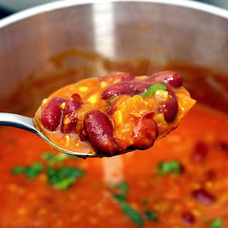 Red Kidney Bean Curry [Rajmah].