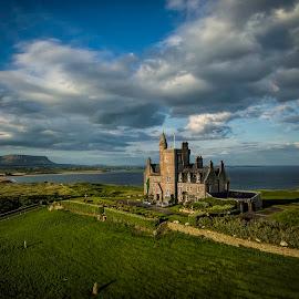 Classiebawn Castle by Jim Hamel - Landscapes Travel ( mullaghmore, ireland, classiebawn, castle, sligo )