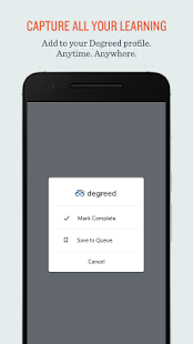 Degreed - Daily Learning Habit - náhled