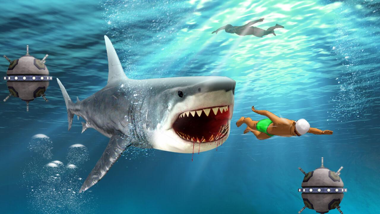 Unblocked shark games gamesworld for Unblocked fishing games