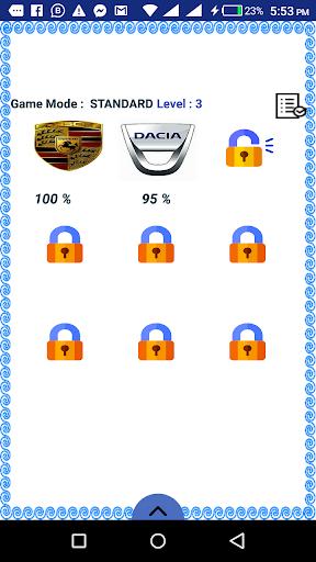 My Passion Car- Logo Quiz Game 2.7 screenshots 7