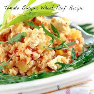 Tomato Bulgur Wheat Pilaf