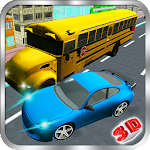 Traffic Car Racing 3D Icon