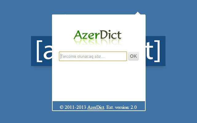 Azerdict dictionary