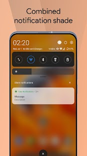 Mi Control Center: Notifications and Quick Actions Screenshot