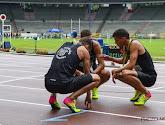 de drie Belgische estafetteploegen op de 4x400 meter mogen naar het WK