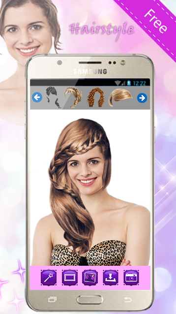 Hairstyles Change Hair Color - Android Apps on Google Play