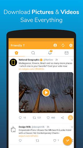 Friendly For Twitter 3.1.4 screenshots 3