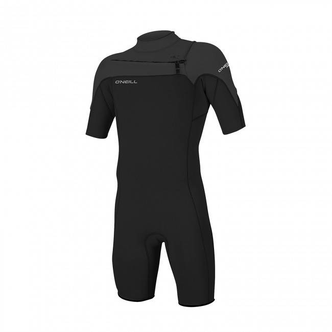 O'NEILL - HAMMER 2MM CHEST ZIP SPRING WETSUIT / Black