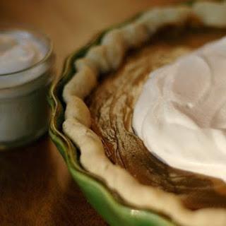 Browned Butter Butterscotch Pie.