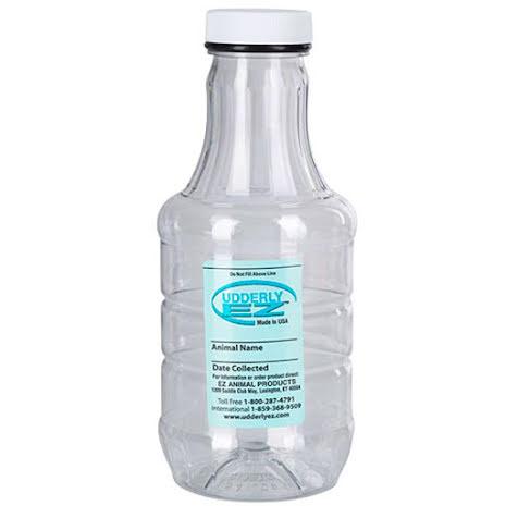 Flaska 1000 ml till Mjölkpump för får 2-pack