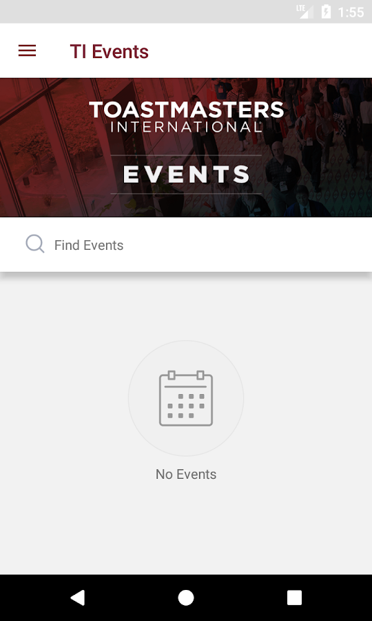 Toastmasters Events- screenshot