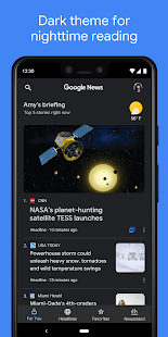 Google News: Top World & Local News Headlines Screenshot