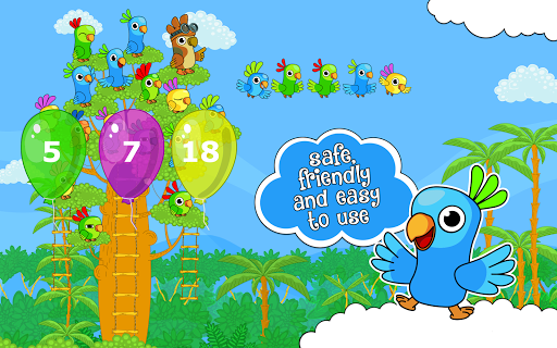 Counting Parrots 1 無料|玩教育App免費|玩APPs