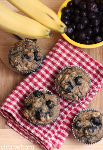 Toddler Approved Blueberry Muffins