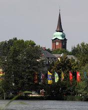 Photo: barocke Schelfkirche in der Neustadt