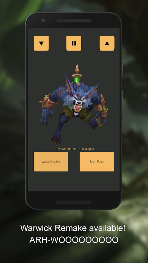 3d Viewer For Lol Free Android Apps On Google Play