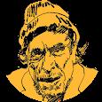 Charles Bukowski icon