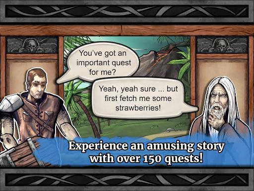 Paladin's Story: Fantasy RPG (Offline) filehippodl screenshot 16