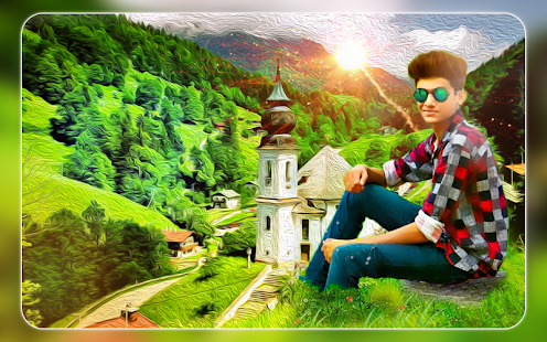 Green Hill Photo Frames - Green Hill Photo Editor - náhled
