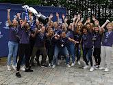 📷 Foto's van de titelhuldiging van RSC Anderlecht in Super League