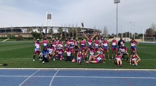 Almería logra el récord de España 4x100 mixto