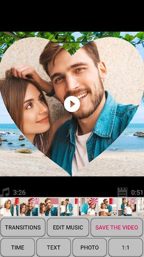 Slideshow with photos and music screenshot 1
