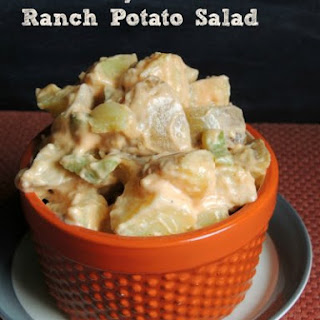 Creamy Buffalo Ranch Potato Salad