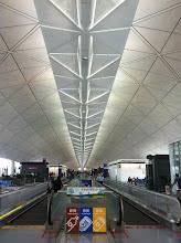 Photo: Hong Kong Airport - this thing is a million kilometers long