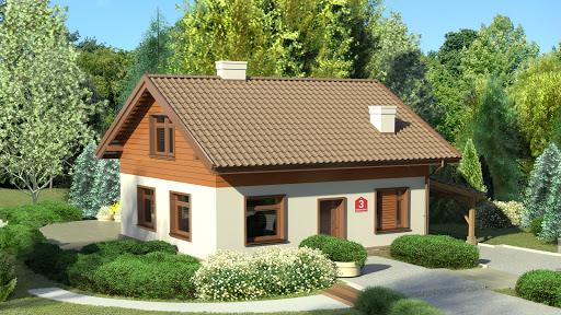 projekt Dom przy Imbirowej 3