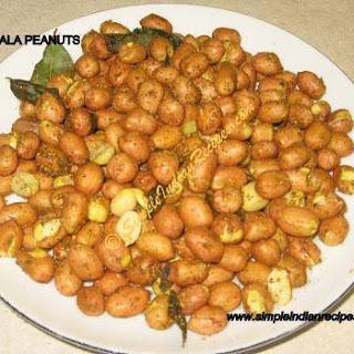 Spicy Masala Peanuts.