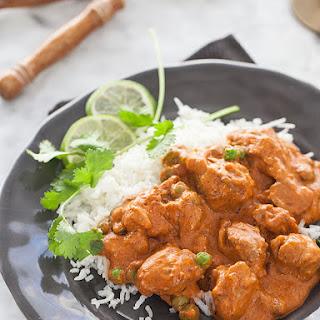 Indian Butter Chicken.