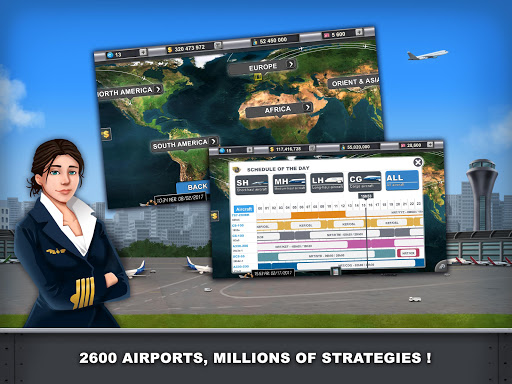 Airlines Manager - Tycoon 2018  screenshots 8