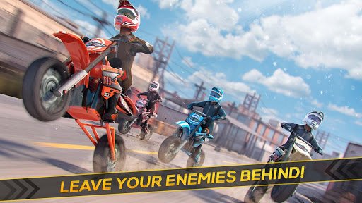 Real Motor Bike Racing - Highway Motorcycle Rider  screenshots 7