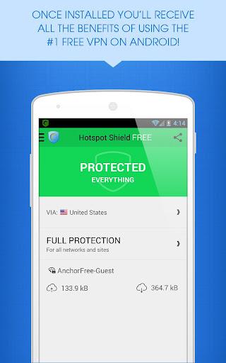 Hotspot Shield VPN Installer for PC