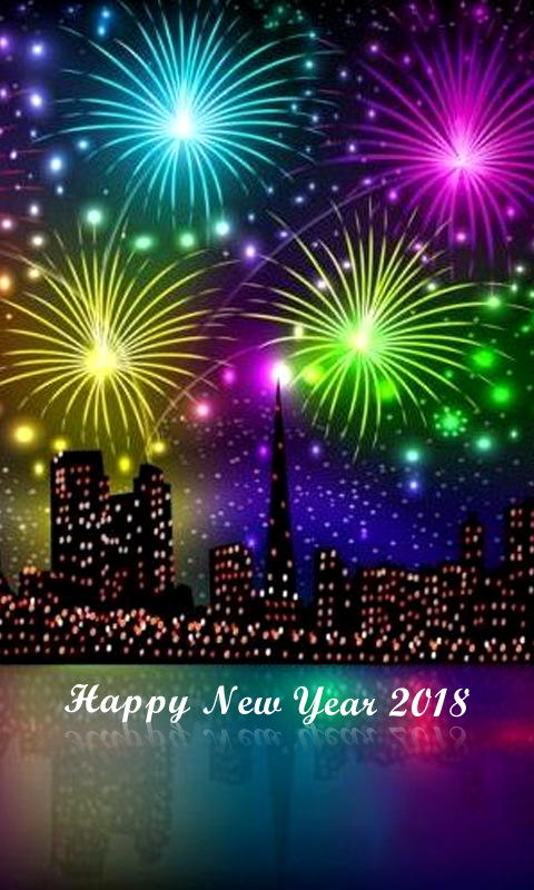 New Year 2018 Sparks Wallpaper Android Apps On Google Play
